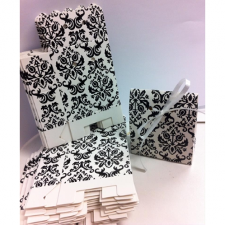 Damask Favor Boxes (25)