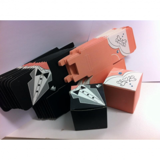Bride and Groom Favor Boxes (20)