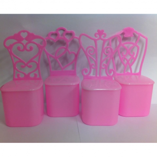 Pink Princess Chair Favour Box