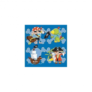 Pirate Captain Jack Paper Napkins (10)