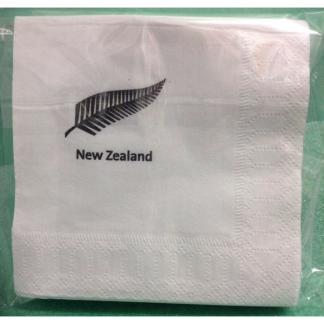 New Zealand Fern Beverage Napkins (50)
