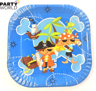 captain jack pirate plates