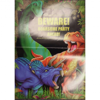 Party Dinosaur Posters (8) OR PLACEMATS