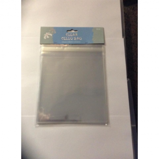 Clear Cello Bags 16cm x 16cm + 3.5cm (40)