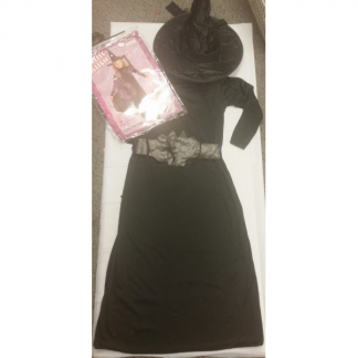 Girls Classic Witch Costume (8-10yrs)