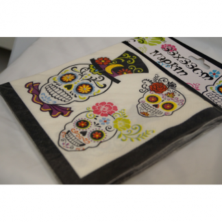 Day Of The Dead Paper Napkins (15)
