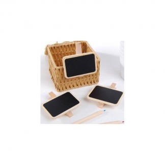 Clip On Mini Wooden Blackboard (1)