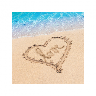 Beach Love Luncheon Napkins (16)