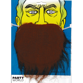 Party Beard - Brown
