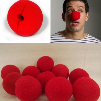 Red Foam Clown Nose (1)