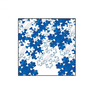 Snowflake Scatters in Blue & Silver 28g