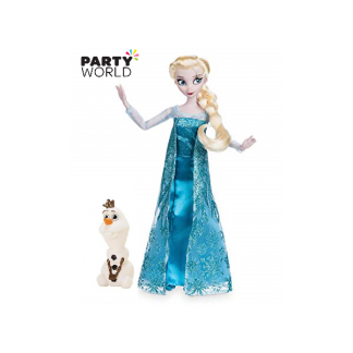 Frozen Elsa Plastic Doll with Olaf