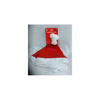Kids Santa Hat Pack of 4