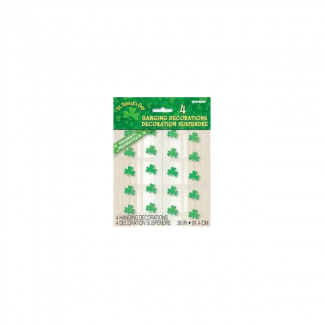 St. Patricks Day Hanging String Decoration (4pk)
