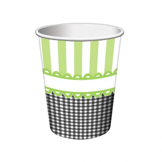 Green Paper Cups (8)