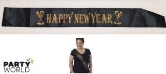 new year eve sash