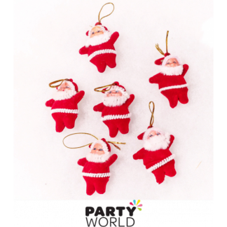 Christmas Mini Santa Decorations (10)
