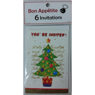 Christmas Tree Invitations (6)