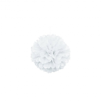 10in Puff Ball - White