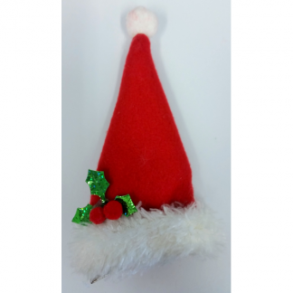 Mini Santa Hat Hair Clip