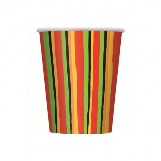 Fiesta Stripes Cups (8)
