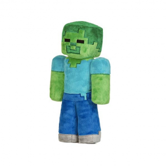 Mini Minecraft Zombie Plush Toy approx 15cm
