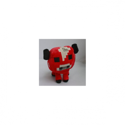 Minecraft Baby Mooshroom (Bull) Plush Toy