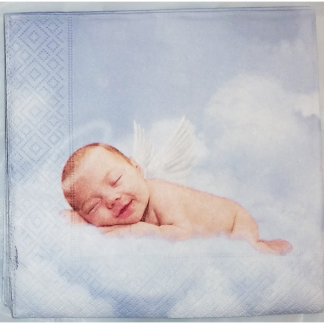 Baby Angel Cloud Luncheon Napkins (20)