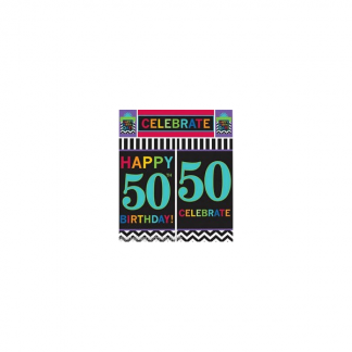50th Birthday Wall Decorating Kit