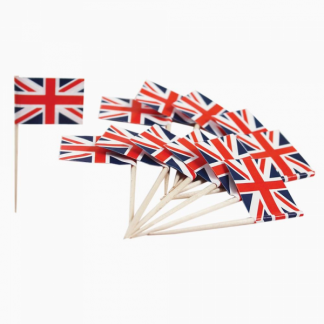 Union Jack Flag Picks (20)