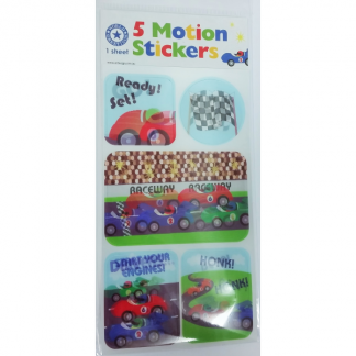 Motion Car Racing Stickers