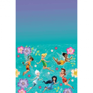Tinkerbell Best Friend Fairies Plastic Table Cover