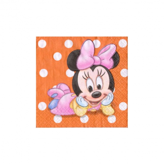 Disney Minnie's Birthday Beverage Napkins (16)