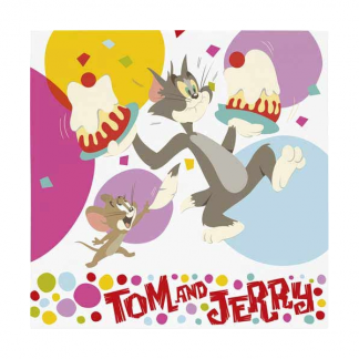 Tom and Jerry Luncheon Napkins (10)