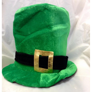 St Patricks Day Delux Tall Hat