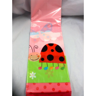 Party Plastic Tablecover Ladybug
