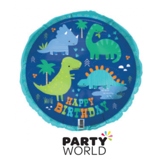 "Dino-Roar 18"" Foil Balloon"