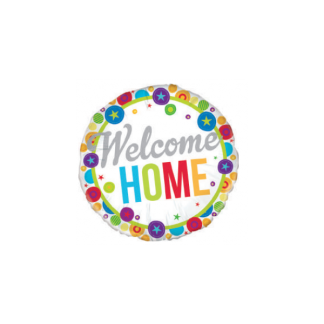 "'Welcome Home' 18"" Foil Balloon"