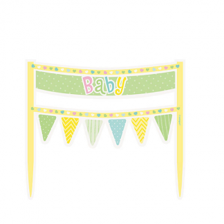 Baby Shower Cake Banner - GENDER NEUTRAL