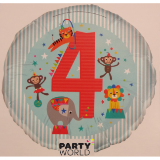 "4th Birthday 18"" Foil Balloon"