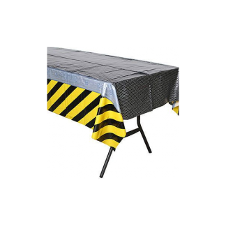 Construction Birthday Zone Tablecover
