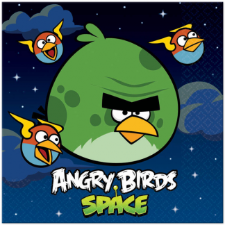Angry Birds Space Luncheon Napkins (8)
