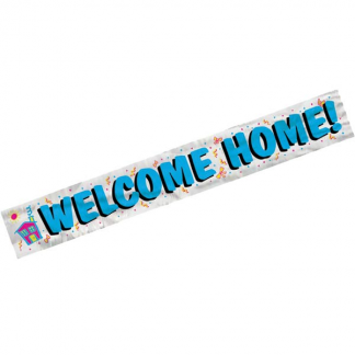 Welcome Home Foil Banner