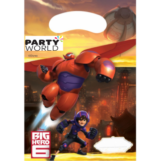 Big Hero 6 Plastic Loot Bags (6)