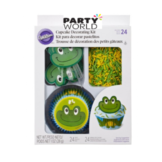 Wilton Frog Cupcake Decorating Kit (24)