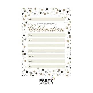 Celebration Invitation Sheets (20)