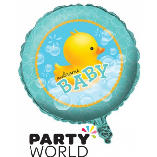 Bubble Bath Foil Balloon - Baby shower welcome baby