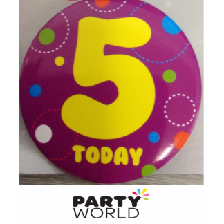 5 TODAY Purple badge