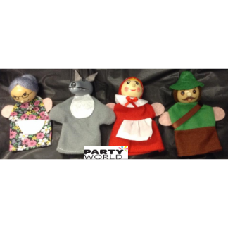 Red Riding Hood Finger Puppets (4)
