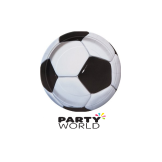 Soccer 9 inch Paper Party Plates (8)